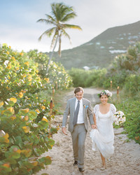 A Casual Beachfront Destination Wedding in St. Barts