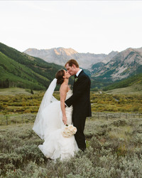 A Formal Outdoor Wedding in Aspen, Colorado