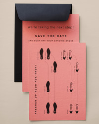 Kick Off Your Wedding With DIY Save-the-Dates