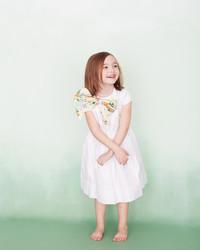 One Flower Girl Dress, Four Ways