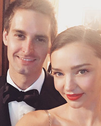 Evan Spiegel Gave Miranda Kerr the Most Thoughtful (And Techy) Gift