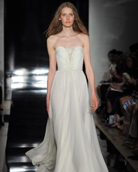 See Reem Acra's Spring 2017 Wedding Dress Collection
