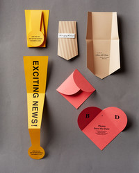 3 Clever Ways to Fold Your Save-the-Dates