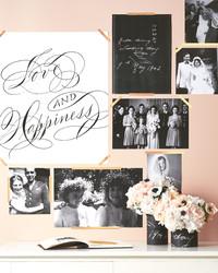 29 Creative Ways to Display Photos at Your Wedding
