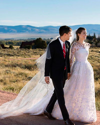 Allison Williams and Ricky Van Veen Celebrate Their First Wedding Anniversary