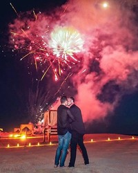 Go Inside Colton Haynes & Jeff Leatham's Magical Proposal!