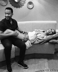 Chrissy Teigen and John Legend Are About to Become the Coolest Parents Ever