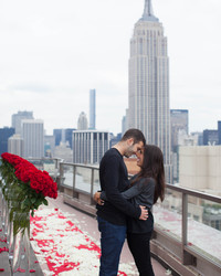 See How 1,000 Roses Added up to One Over-the-Top Proposal