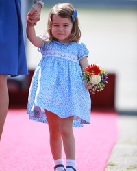 Princess Charlotte Just Dressed Like the Cutest Flower Girl Ever