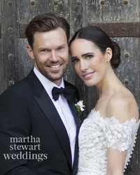 Exclusive: Louise Roe Marries Mackenzie Hunkin! Go Inside Their English Wedding