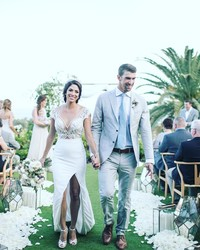 Michael Phelps and Nicole Johnson Have Released Photos From Their Wedding Day
