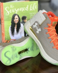 Steph Curry Used His Wife's Cookbook as Inspiration for His Newest Sneaker Design
