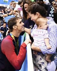 "How Michael Phelps's Mom Always Knew Fiancée Nicole Johnson Was ""The One"""