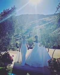 Get a Closer Look at Samira Wiley and Lauren Morelli's Palm Springs Wedding