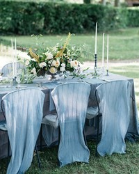 Here's the Secret to Making Your Outdoor Wedding Feel Cozy