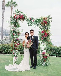 "This California Wedding Was Inspired By the Beyoncé Lyrics ""I Love You Like XO"""