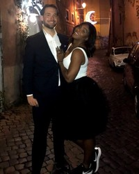"Serena Williams Opens Up About Her Engagement to ""Nerdy"" Fiancé Alexis Ohanian"