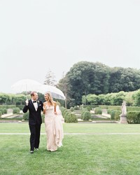 A Rainy, New York Castle Wedding with a Fairy Tale Ending