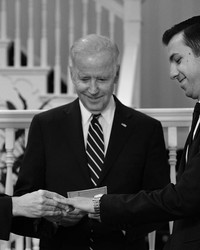 Joe Biden Just Officiated a Same-Sex Wedding for Two White House Staffers