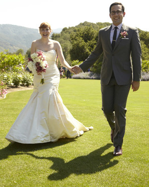 A Whimsical Purple Wedding in California