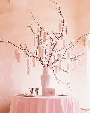 Twigs and Branches Wedding Ideas