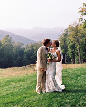 A Casual, Rustic Outdoor Destination Wedding in Vermont