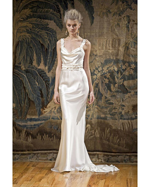 Elizabeth Fillmore Spring 2009 Bridal Collection