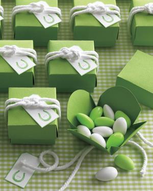 Sailor Knots for Favor Boxes
