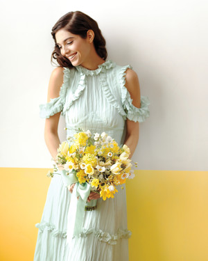 9 Ideas for Using Lemon and Mint As Your Wedding Color Scheme