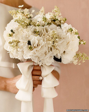 Hydrangea Wedding Flower Arrangements