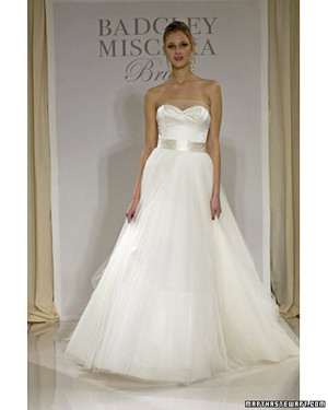 Badgley Mischka, Spring 2008 Bridal Collection