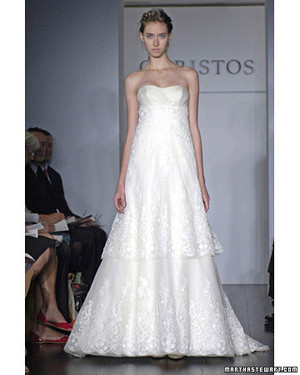 Christos, Spring 2008 Bridal Collection
