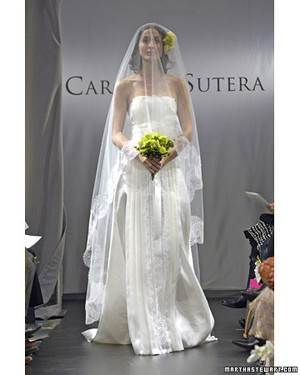 Carmela Sutera, Spring 2008 Bridal Collection