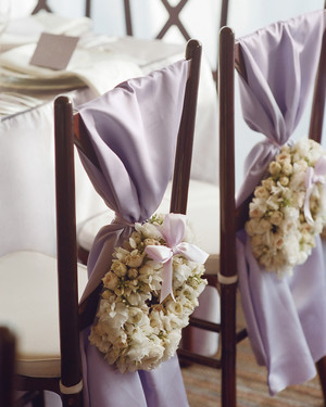 Chair Decor from Real Weddings