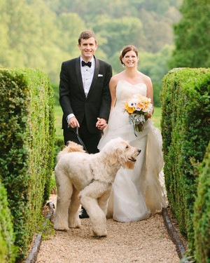 A Vintage, Formal Outdoor Wedding in Virginia
