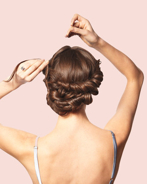 DIY Wedding Updos