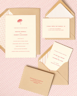 easy ways to upgrade your wedding invitations | martha stewart, Wedding invitations