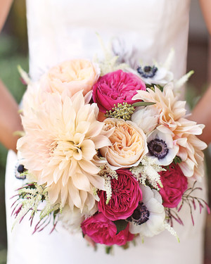 Pink Summer Wedding Flowers