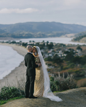 A Glamorous, Whimsical Wedding in Stinson Beach, California