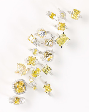 Yellow Diamond Engagement Rings