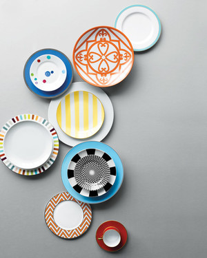 5 Bold and Colorful China Patterns for Your Bridal Registry