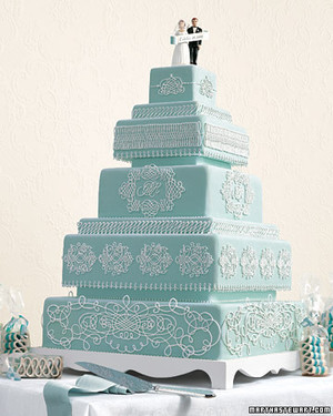 Something Blue: Wedding Cakes