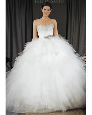 Tulle Princess Ball Gowns from Spring 2012 Bridal Fashion Week