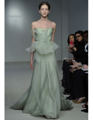 Colorful Wedding Dresses from Spring 2012 Bridal Fashion Week