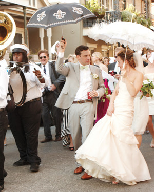5 Bands That Will Kick Off Your Wedding Reception With a Parade