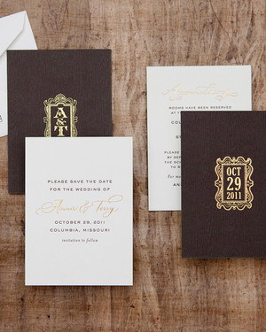 Rustic Save-The-Dates We Love