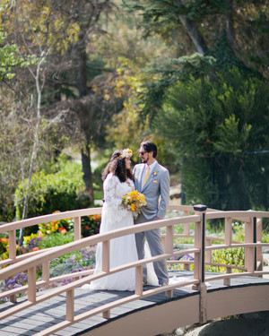 Real Wedding: Justina and Jason, Los Angeles, California