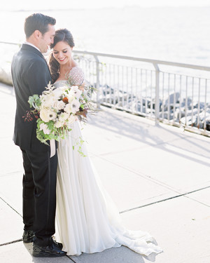 A Glamorous Vintage Wedding in Brooklyn, New York