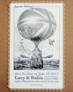 Save-the-Dates from Real Weddings