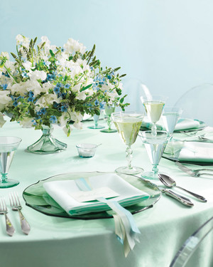 Wedding Colors: Sea Glass